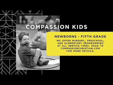 Compassion Live, Cam Huxford, 11AM