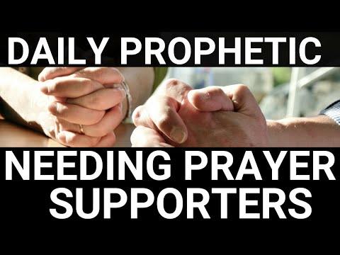 Needing prayer supporters