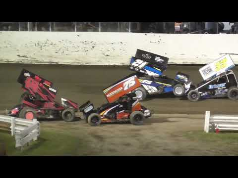Skagit Speedway Dirt Cup Night #2 ASCS National Tour June 25th, 2021 - dirt track racing video image