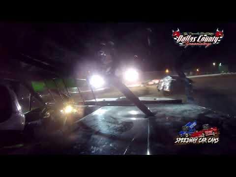 #33 Brad Page - USRA B Mod - 8-20-2021 Dallas County Speedway - In Car Camera - dirt track racing video image