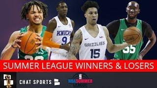 NBA Summer League Winners & Losers Feat  Brandon Clarke, RJ Barrett, Tacko Fall & Carsen Edwards