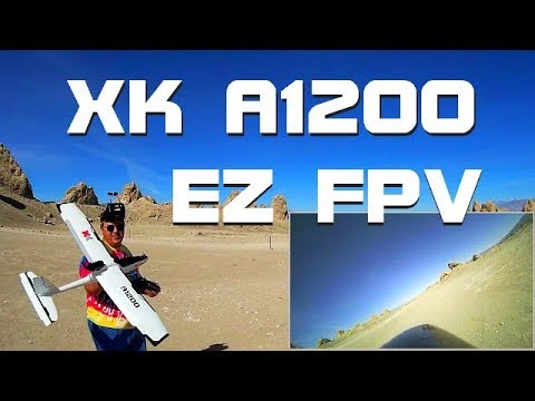 XK A1200 Large Stabilized FPV Airplane Flight Demo - UC90A4JdsSoFm1Okfu0DHTuQ