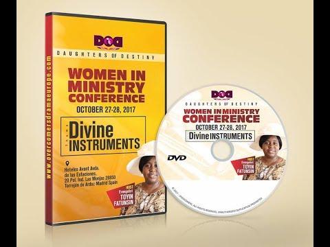 WIM Talk 1 2017-Divine Instruments by Evang.  Mrs. Toyin Fatunsin