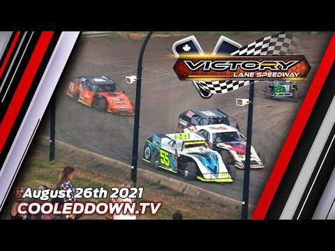 Thursday August 26th 2021, LIVE on PPV from Victory Lane Speedway - dirt track racing video image