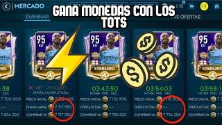 TRUCO PARA GANAR MONEDAS CON LOS TOTS FIFA MOBILE 19/NO HACKS/NUEVO MÉTODO