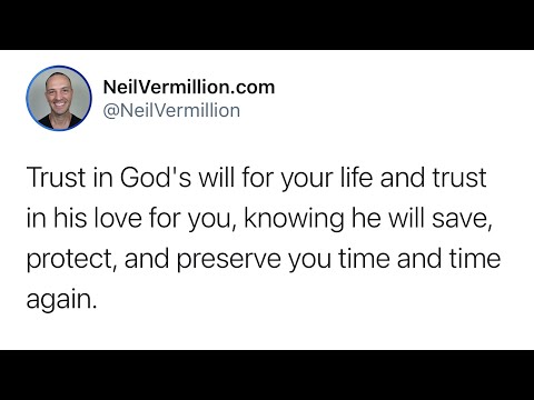Trust In My Love For You - Daily Prophetic Word