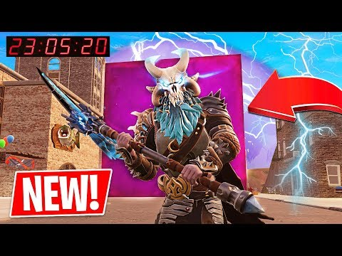 Fortnite CUBE is in TILTED TOWERS!! Fortnite *NEW* Port a Fortress & Spiky Stadium! - UC2wKfjlioOCLP4xQMOWNcgg
