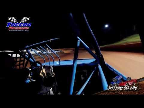 #24 Joesph Morgan - FWD - 9-5-21 Toccoa Raceway - In-Car Camera - dirt track racing video image