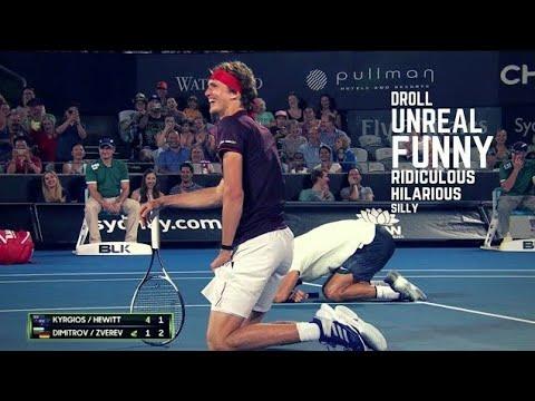 Tennis. TOP Funny Moments (2018 Edition) - UC_F3h1Aa4EupMBAw-vgR0xQ