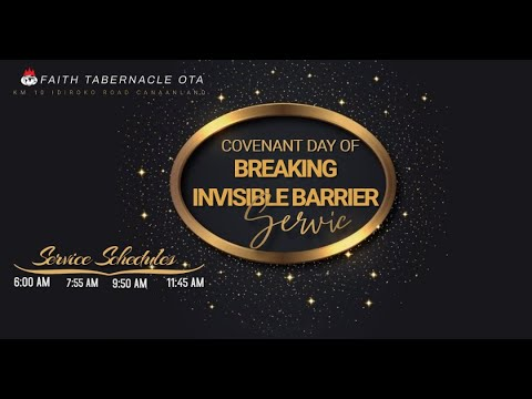 DOMI STREAM: COVENANT DAY OF BREAKING INVISIBLE BARRIER  7, FEBRUARY 2021  FAITH TABERNACLE OTA