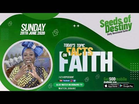 Dr Becky Paul-Enenche - SEEDS OF DESTINY  SUNDAY JUNE 28, 2020