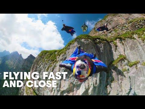 "Wingsuit Flying Formation in ""The Crack""  | Miles Above 3.0 - UCblfuW_4rakIf2h6aqANefA"