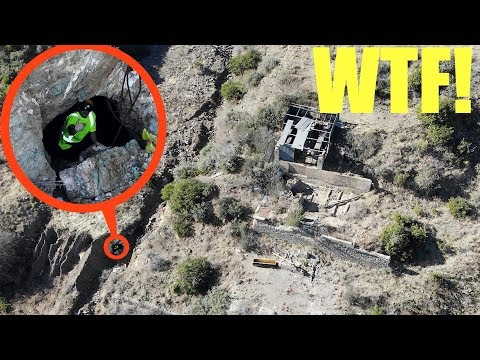 you will not believe what my drone caught on camera deep in the mountains (crazy person in mines!!) - UCZhUolzN9vMdkjWrnT9DQ2A