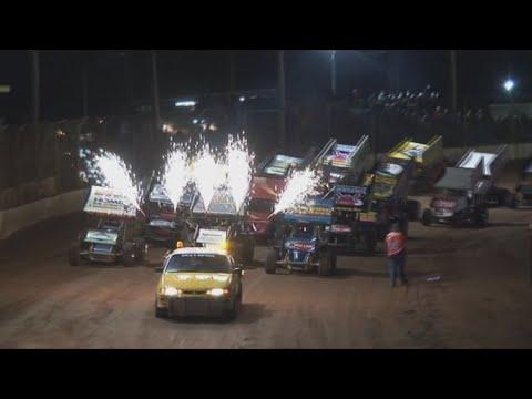 2008/09 Queensland Sprintcar Title (Night 2): Maryborough Speedway   7th June 2009 - dirt track racing video image