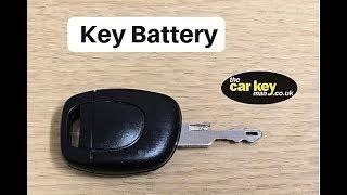 Sostituire batteria chiave Renault Clio 2