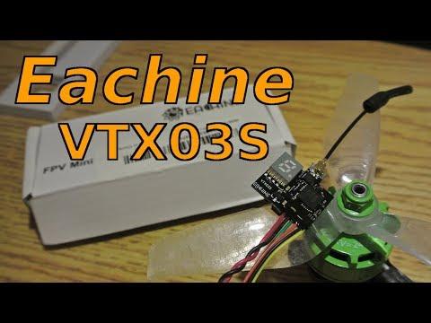 Eachine's Micro SmartAudio VTx - Eachine VTX03S review - UCsz_93d6XCslPayRljNOR_Q