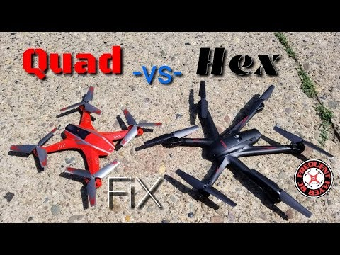 Quad VS Hex - Attop A8 vs MJX X600 - Morning Fix with T8SG  - UCNUx9bQyEI0k6CQpo4TaNAw