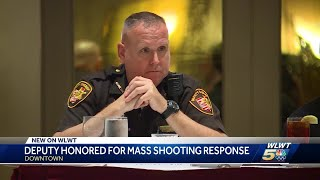 Deputy honored for response in Fifth Third mass shooting