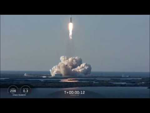 Blastoff! SpaceX Falcon Heavy Launches Arabsat-6A Mission - UCVTomc35agH1SM6kCKzwW_g
