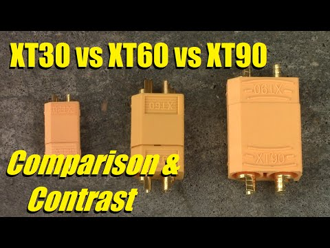 XT30 vs XT60 vs XT90 - Compare & Contrast - UC92HE5A7DJtnjUe_JYoRypQ