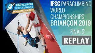 IFSC Climbing World Championships - Briançon 2019 - Paraclimbing Finals #1
