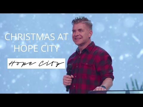 Christmas At Hope City  Pastor Jeremy Foster
