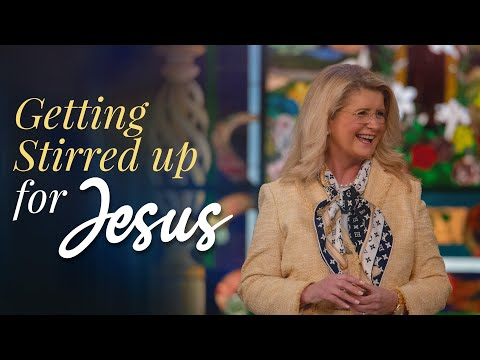 Getting Stirred Up For Jesus! (November 15, 2020)  Cathy Duplantis