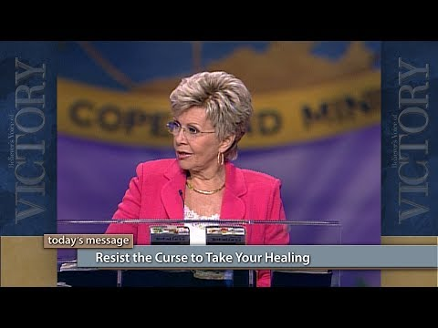 Resist the Curse to Take Your Healing