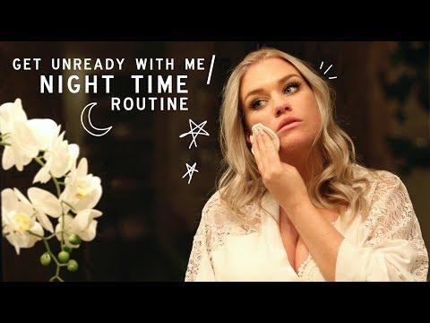 GET UNREADY WITH ME / NIGHT-TIME ROUTINE | Samantha Ravndahl