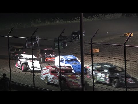 I.M.C.A. Feature Race at Silver Bullet Speedway, Michigan, on 06-27-2020! - dirt track racing video image