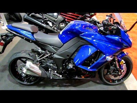 2014 Kawasaki Ninja 1000 ABS Walkaround - 2014 Toronto Motorcyle Show - automototube