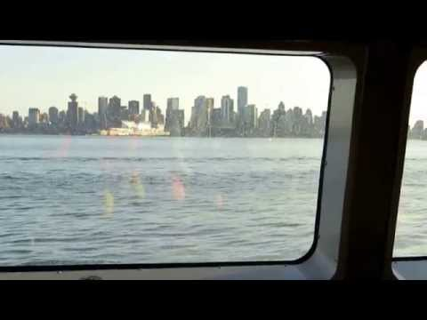 On ferry en-route to Vancouver City
