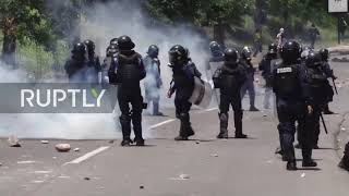 Honduras: Violent clashes as anger grows at president