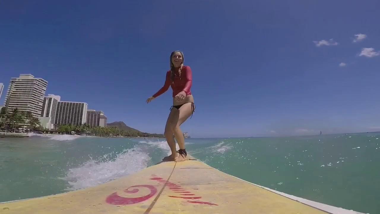 SURFING WAIKIKI HAWAII