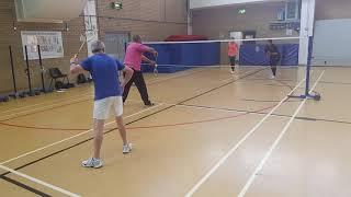 Badmington Coaching With Shirley Onyebuashi Coaching Game 2