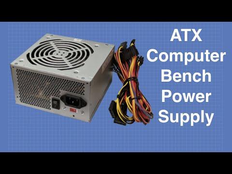 ATX Bench Power Supply - Convert a Computer Power Supply - UCzml9bXoEM0itbcE96CB03w