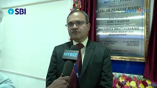 Ramesh, General Manager - NW 1 - SBI | SBI New branch inauguration at Narsingi Hyderabad