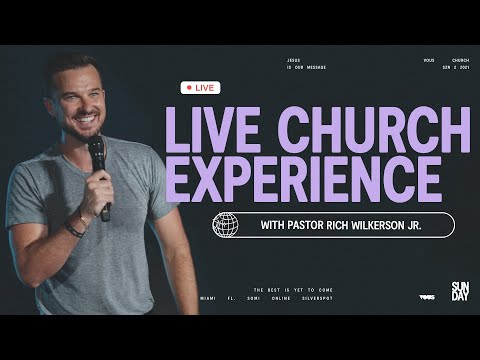 Join us LIVE at VOUS Church  Sunday Service - May 2nd, 2021 at 12PM