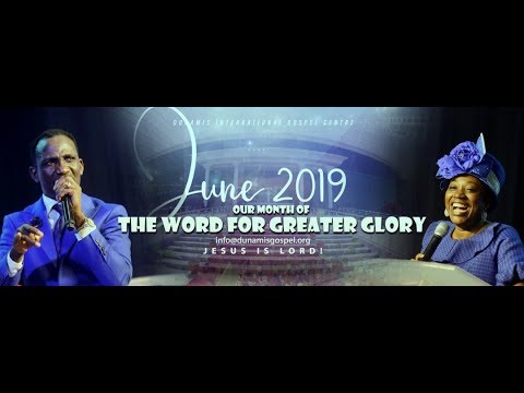 FROM THE GLORY DOME: HEALING AND DELIVERANCE SERVICE. 18-06-19