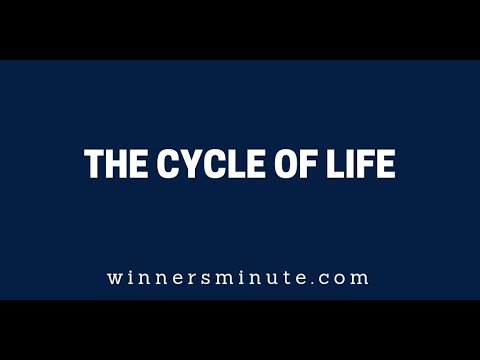 The Cycle of Life  The Winner's Minute With Mac Hammond