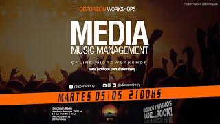 """DISTORSIÓN WORKSHOPS #1 """"Músicos y Medios"""" parte 1"""