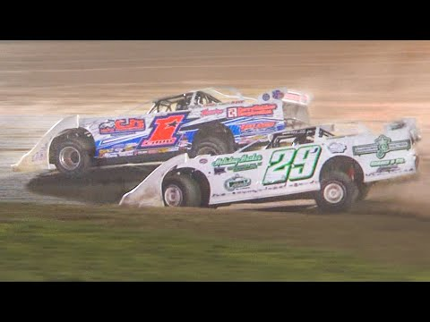 RUSH Crate Late Model Feature | Eriez Speedway | 8-8-21 - dirt track racing video image