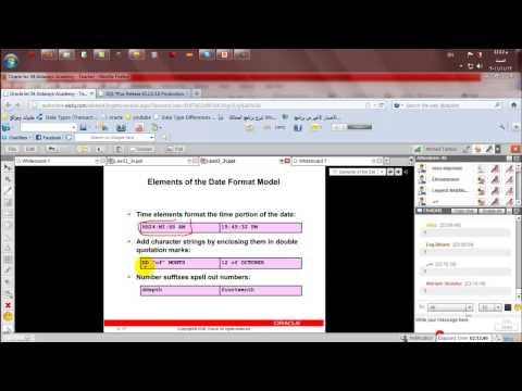 أكاديمية الدارين|أوراكل|محاضرة4|جزء2-3