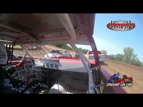 #L19 Jamie Brandon - Pure Stock - 9-5-2021 Springfield Raceway - In Car Camera - dirt track racing video image