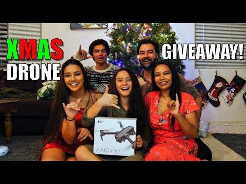 Christmas DRONE Giveaway! - Hubsan ZINO PRO - Mele Kalikimaka! - UCVQWy-DTLpRqnuA17WZkjRQ