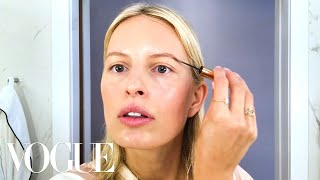 Karolína Kurková's Guide to Super Quick Supermodel Beauty | Beauty Secrets | Vogue