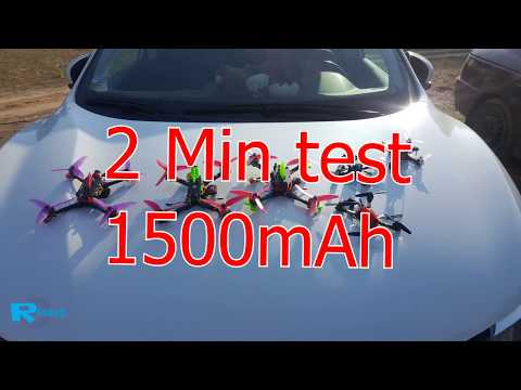 1500 mAh 4s at 2min test - 1.80 per cell... - UCv2D074JIyQEXdjK17SmREQ
