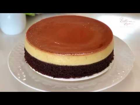 Caramel Pudding With Chocolate Cake 焦糖布丁巧克力蛋糕