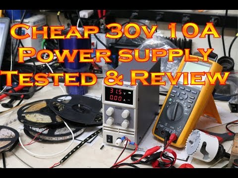 Chinese 30V 10A power supply Testing and Review - UCZE6qiMt4u-rVbxRxTEAgPA