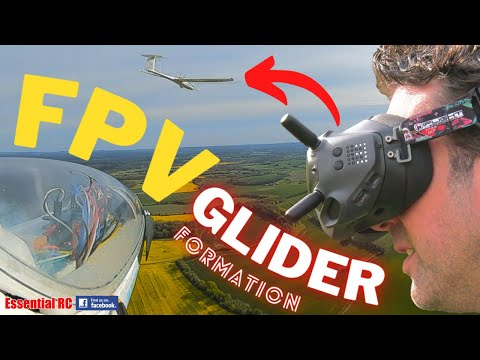 DJI FPV Electric RC Glider Formation Flying | Over the English Countryside ! - UChL7uuTTz_qcgDmeVg-dxiQ
